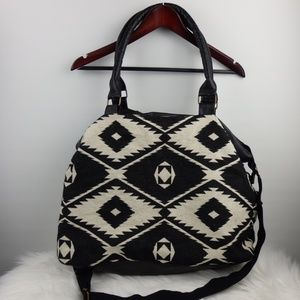 Mossimo Large Canvas Aztec Travel Bag